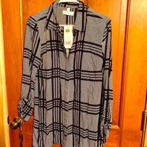 *3+ for $5ea* Belk New Directions S Plaid Blouse